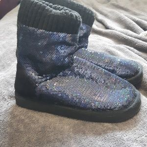 PINK Victoria's Secret Sparkle Slippers
